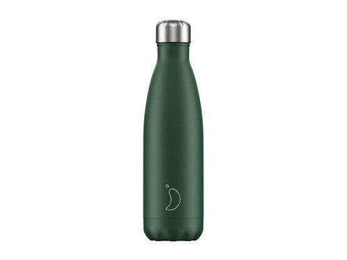 Chilly's 500ml Trinkflasche Matt Grün