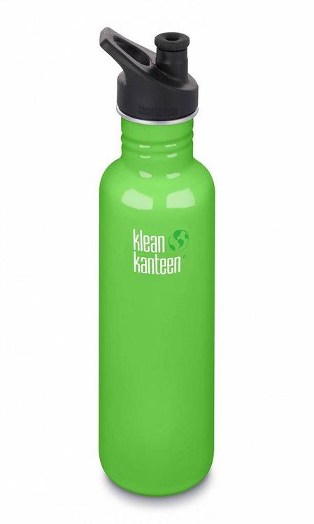 Klean Kanteen Classic Sport 800ml Spring Green - Grün