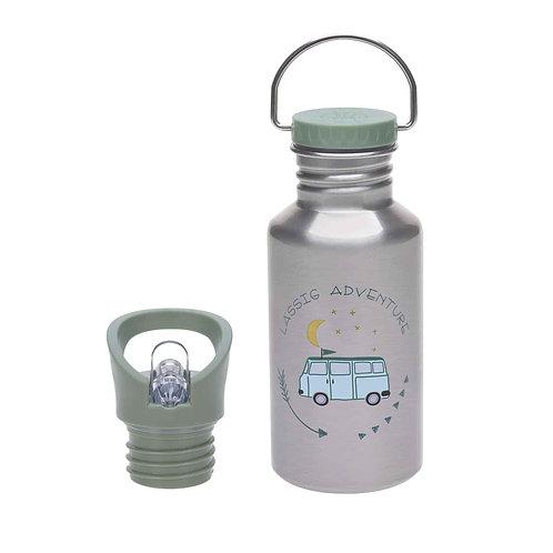 Lässig Kinder Trinkflasche Edelstahl Adventure Bus
