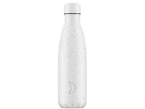 Chilly's 500ml Trinkflasche Speckled Weiss