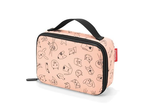 Thermotasche Cats and Dogs Rosa