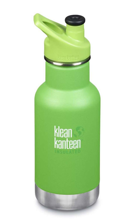 Klean Kanteen 12oz Kid Thermotrinkflasche 355ml Lizard Tails - Grün