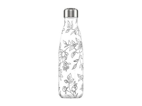 Chilly's 500ml Trinkflasche Line Flowers