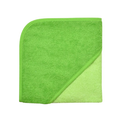 Kapuzen Badetuch Grün