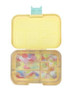 Munchbox mit 5 Unterteilungen Pastell Gelb