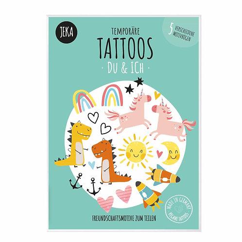 Jeka Tattoos Du & Ich