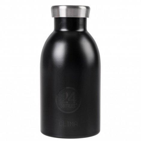 24Bottles Thermosflasche Clima 330 ml Tuxedo Black