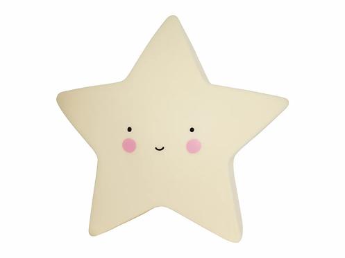 ALLC Nachtlicht Stern Gelb