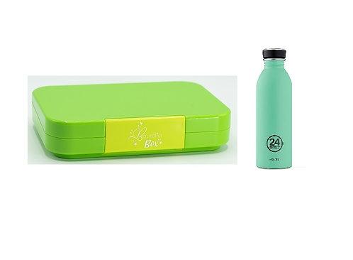 SET Baurelia Box Maxi mit 24Bottle 500ml Mint