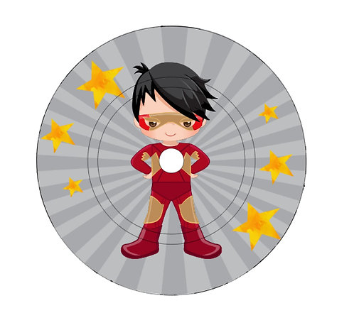 Schutzfolie Toniebox Ladestation Superheld 3