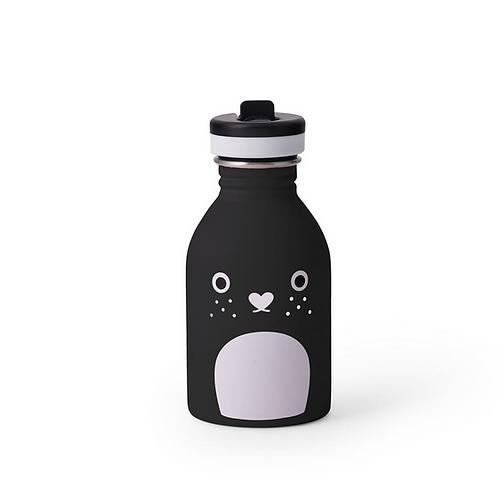 Noodoll X 24Bottles Trinkflasche 250ml Riceberry Schwarz