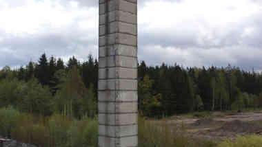Водонапорная башня в д. Ланковщина Борисовского р-на