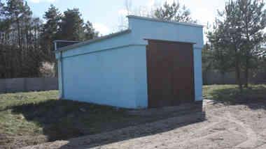 Здание артскважины в д. Пышки Гродненского р-на