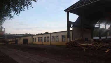 Деревообрабатывающий цех по ул. Центральной в д. Вензовец Дятловского района Гродненской области