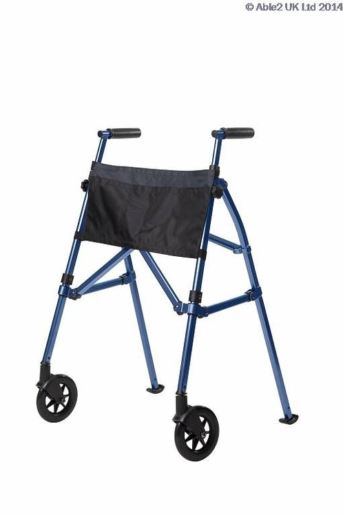 EZ Fold N Go Walker - Cobalt Blue VAT EXEMPT