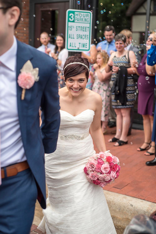 Pixie Cut Bride