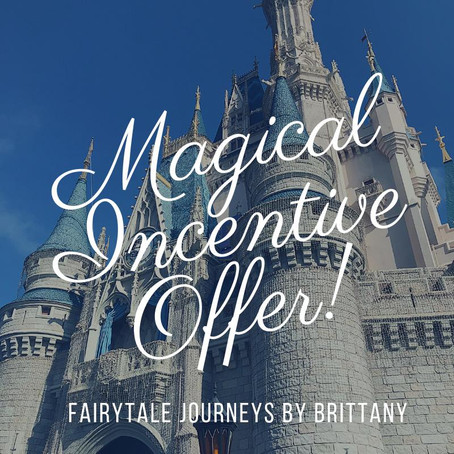 Disney Vacation Promotion - October Bookings Only!
