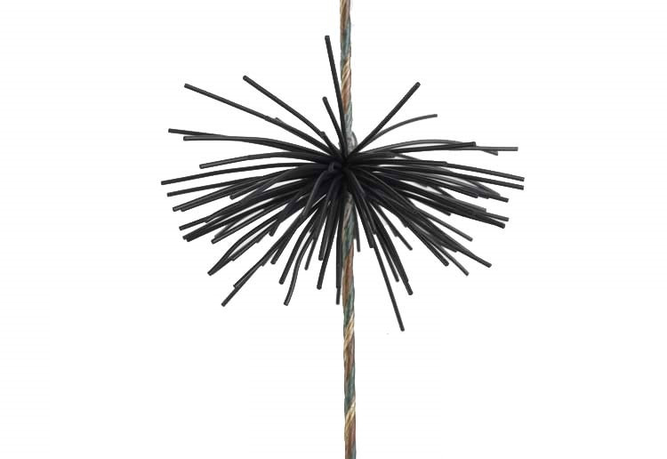 Cat Whiskers Bow String Silencers Black