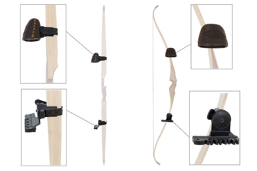 BUCK TRAIL QUIVER FOR TRADITIONAL BOW BROWN