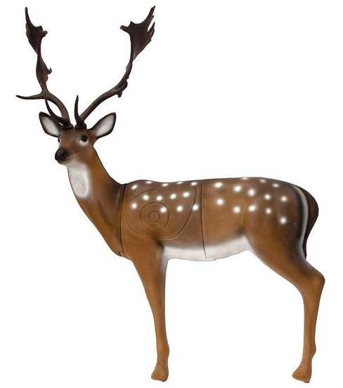 FALLOW DEER - GROUP 1 - L140cm H125cm