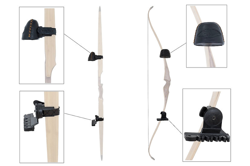 BUCK TRAIL QUIVER FOR TRADITIONAL BOW BLACK