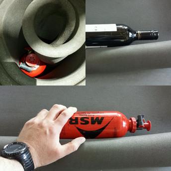 Hvordan beskytte pumpe og drivstoff flaske?