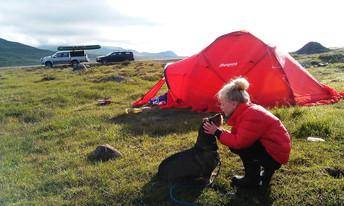 Ta med barna på telttur i sommer