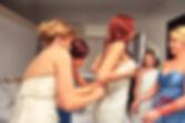Vistitendo a la novia