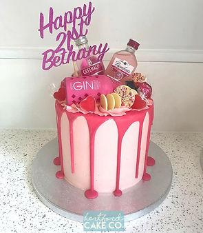 pink gin cake