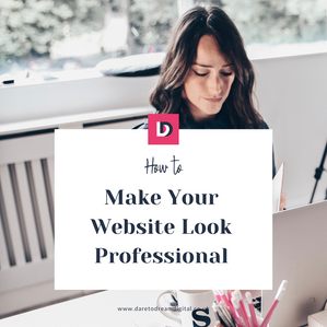 How To Make Your Website Look Professional