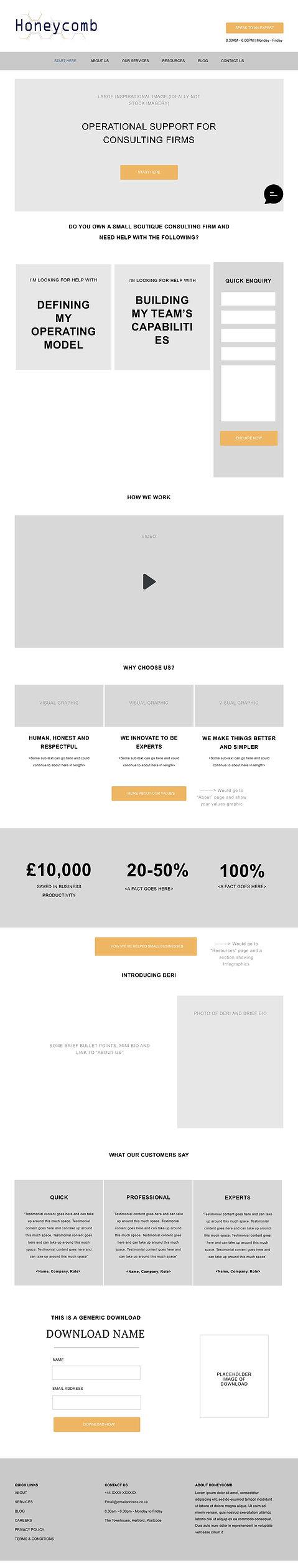 consultancy website design | website design | Hertfordshire