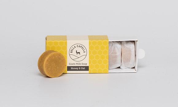 Honey & Oats Goats Milk Soap   Bella Capella   Goats Milk Soap   Homemade Soap   Natural Soap   Organic Soap
