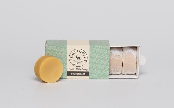 Peppermint Goats Milk Soap | Bella Capella | Goats Milk Soap | Homemade Soap | Natural Soap | Organic Soap