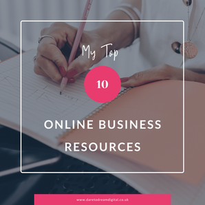 My Top 10 Online Business Resources