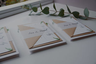 Bespoke Wedding Stationery