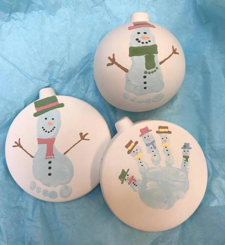 christmas pottery painting hertfordshire