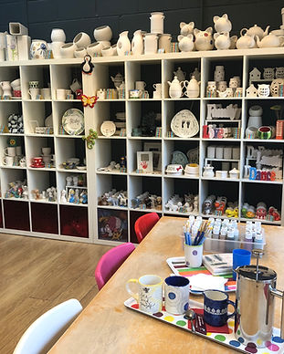 paint your own pottery hertfordshire
