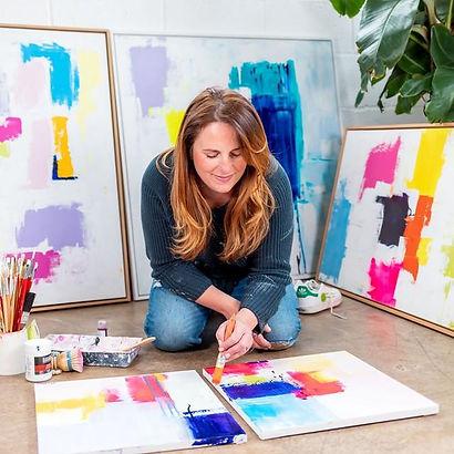 abstract artist hertford
