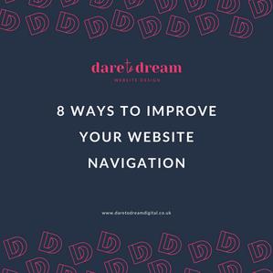 8 Ways To Improve Your Website Navigation