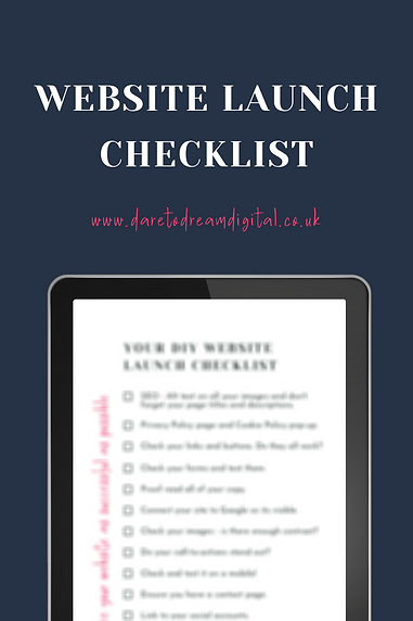 Website Launch Checklist _ Website Desig