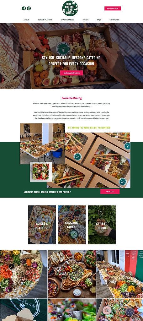 Grazing Business Website Design | Websit