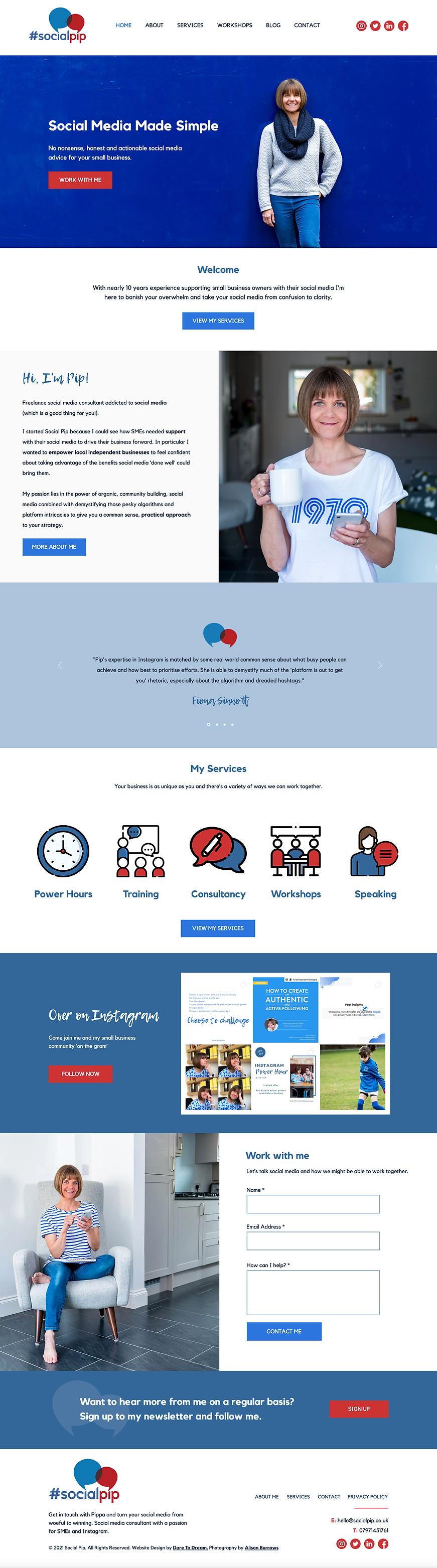 Wix website designer