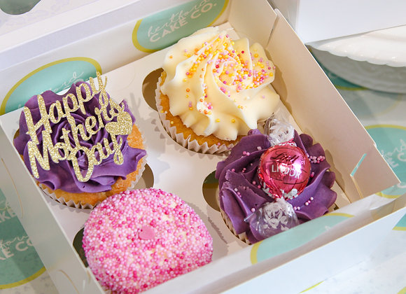 Mother's Day cupcake treat box