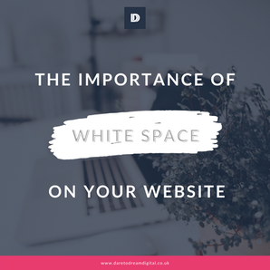 The Importance of White Space On Your Website