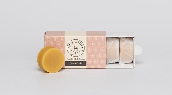 Grapefruit Goats Milk Soap   Bella Capella   Goats Milk Soap   Homemade Soap   Natural Soap   Organic Soap