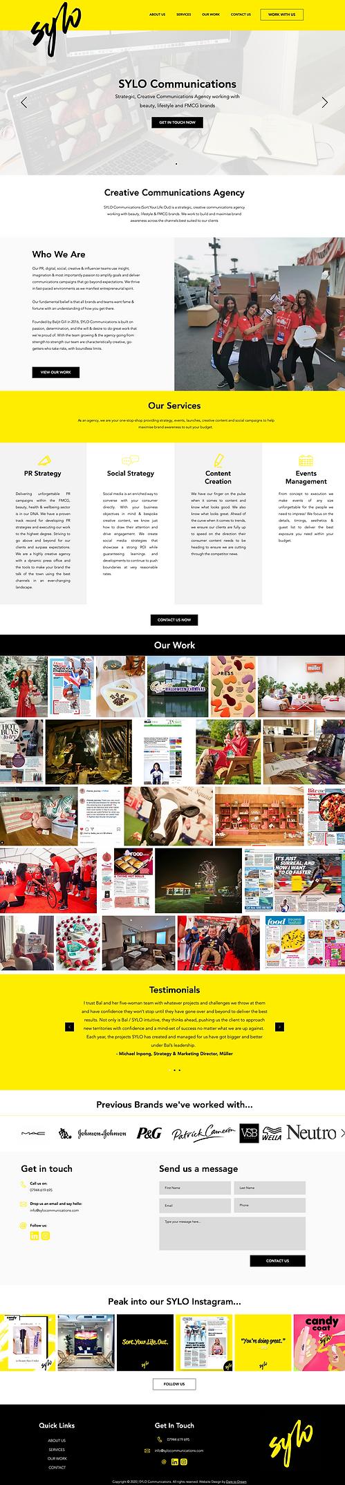 Agency Website Design