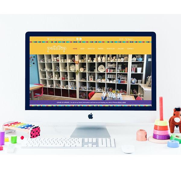 eCommerce Website Design _ Ceramics Stud