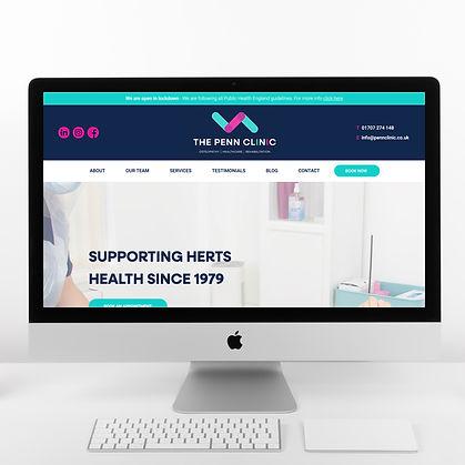 Osteopath Website Design