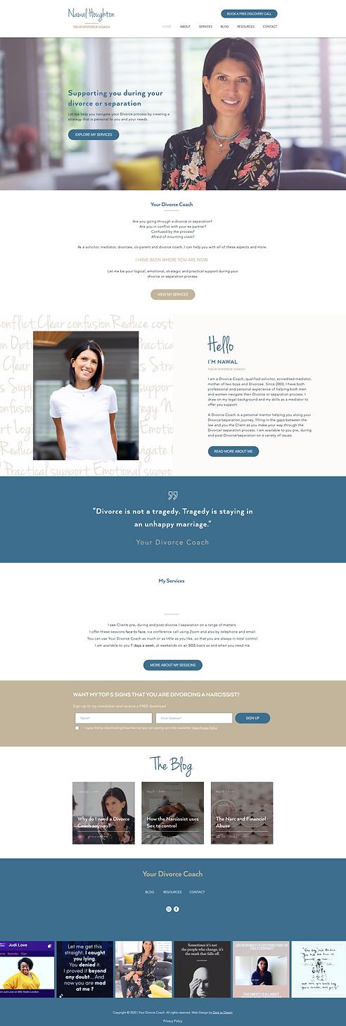 coach website design | website design | Hertfordshire