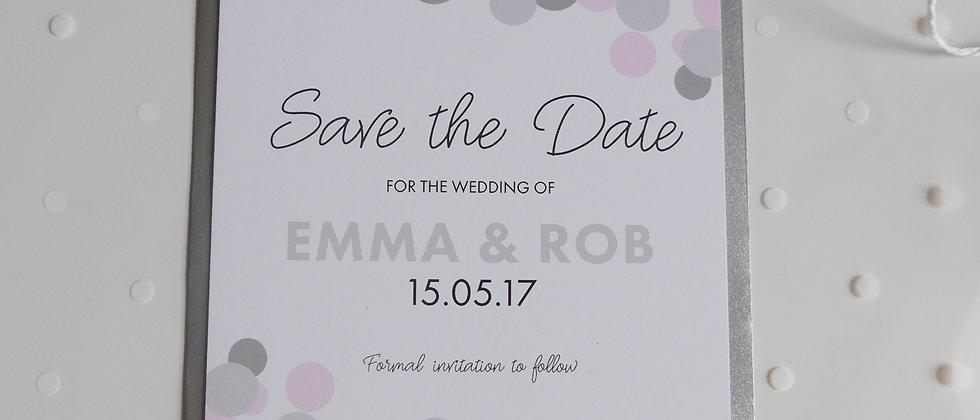 Polkadot save the dates
